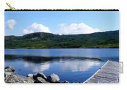Fishing Day - Calm Waters - Digital Painting Carry-all Pouch