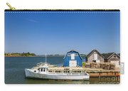 Fishing Dock In Prince Edward Island Carry-all Pouch