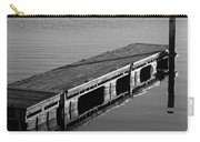 Fishing Dock Carry-all Pouch by Frozen in Time Fine Art Photography