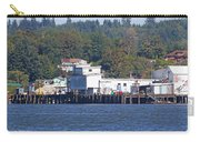 Fishing Docks On Puget Sound Carry-all Pouch
