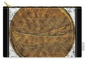Fishing Dory - Brass Etching Carry-all Pouch