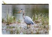 Fishing Heron  Carry-all Pouch