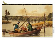 Fishing In A Punt Carry-all Pouch