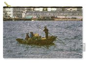 Fishing In Hong Kong Vintage  Carry-all Pouch