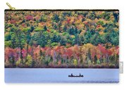 Fishing In The Fall Colors On Lake Chocorua Carry-all Pouch