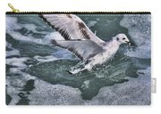 Fishing In The Foam Carry-all Pouch