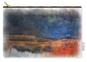 Fishing In The Fog Photo Art Carry-all Pouch
