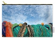 Fishing Nets And Alto-cumulus Clouds Carry-all Pouch