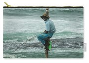 Fishing On A Pole Carry-all Pouch