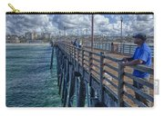 Fishing On Oceanside Pier Carry-all Pouch