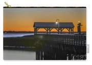 Fishing Pier At Dusk Carry-all Pouch