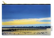 Fishing Pier At Sunset Carry-all Pouch