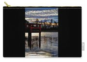 Fishing Pier Sunset  Carry-all Pouch