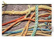 Fishing Ropes And Net Carry-all Pouch