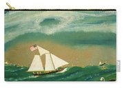 Fishing Schooner Josephine On The Grand Banks Carry-all Pouch