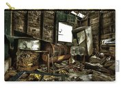 Fishing Shack Posterized Carry-all Pouch