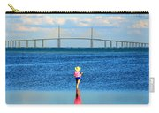 Fishing Tampa Bay Carry-all Pouch by David Lee Thompson