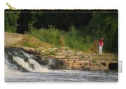 Fishing The Spillway Carry-all Pouch