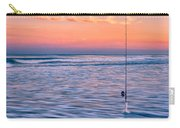 Fishing The Sunset Surf - Horizontal Version Carry-all Pouch