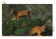 Fishing Tigers Carry-all Pouch
