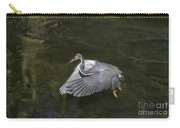 Fishing Tri Colored Heron Carry-all Pouch