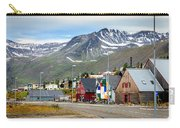 Fishing Village In Iceland Carry-all Pouch