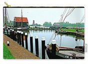Fishing Village Marina In Zuiderzee Open Air Musuem In Enkhuizen-netherlands Carry-all Pouch