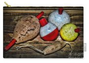 Fishing - Vintage Fish Bobbers Carry-all Pouch