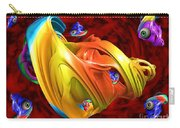Fishy Fractelus  Carry-all Pouch