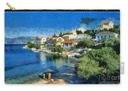 Fiskardo Beach In Kefallonia Island Carry-all Pouch