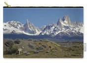 Fitz Roy Range In Springtime 2 Carry-all Pouch