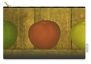 Five Apples  Carry-all Pouch