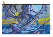 Five Billfish Off00136 Carry-all Pouch by Carey Chen