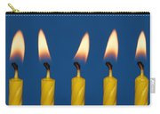 Five Candles Burning Carry-all Pouch