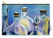 Five Clear Bottles Carry-all Pouch
