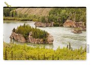 Five Finger Rapids Of Yukon River Yukon T Canada Carry-all Pouch