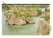 Five Finger Rapids Rocks Yukon River Yt Canada Carry-all Pouch