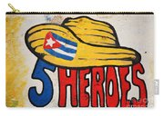 Five Heroes Cuba Carry-all Pouch