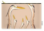Five Herons Carry-all Pouch