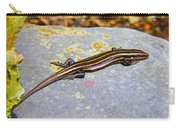 Five Lined Skink Carry-all Pouch