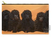 Five Poodle Puppies  Carry-all Pouch