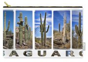 Five Saguaros Carry-all Pouch