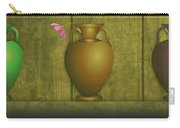 Five Vases One Flower  Carry-all Pouch