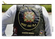 Fla Post 4143 Vfw Rider Color Usa Carry-all Pouch