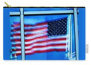 Flag Abstract Reflection Carry-all Pouch
