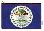 Flag Of Belize Carry-all Pouch