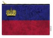 Flag Of Liechtenstein Carry-all Pouch