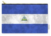 Flag Of Nicaragua Carry-all Pouch