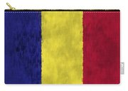 Flag Of Romania Carry-all Pouch