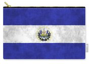 Flag Of Salvador Carry-all Pouch